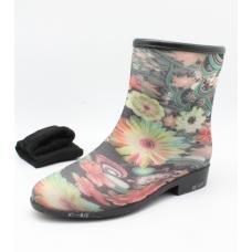 Обувь резиновая женские 718-17